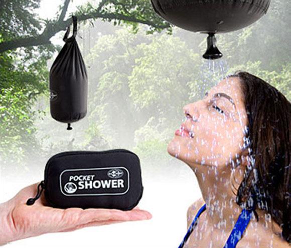 карманный душ