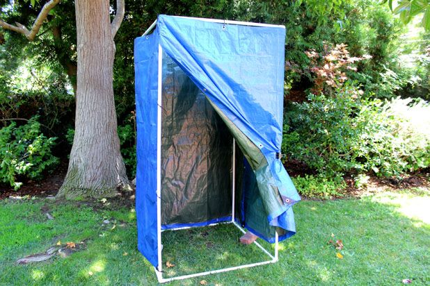 Как собрать мобильный душ для дачи и походов