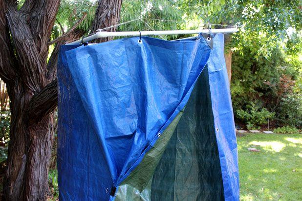готовый навесной портативный душ