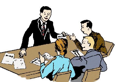 Получить уточнение или задать вопрос председателю встречи