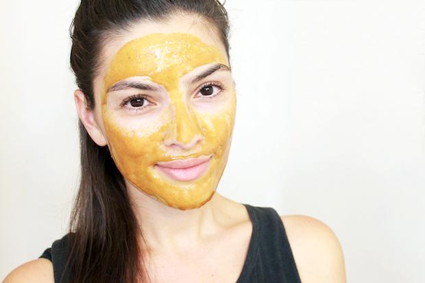Как улучшить состояние кожи при помощи 3-х масок с куркумой