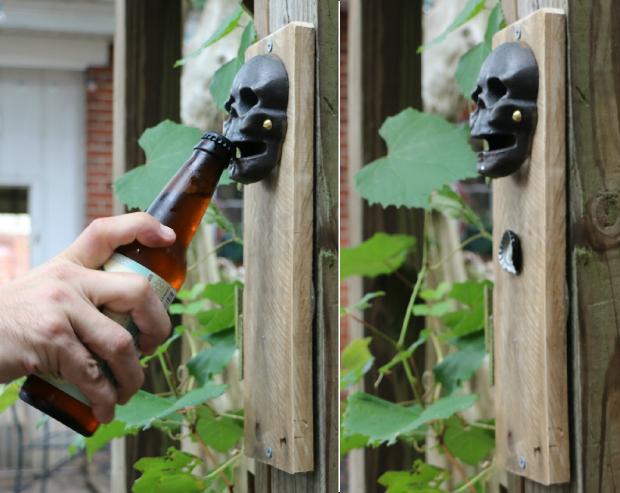 готовая подвешенная настенная магнитная открывалка для пива