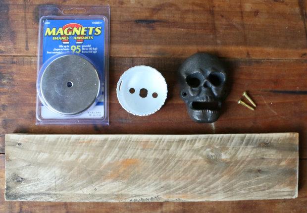 исходные материалы для создания магнитной открывалки своими руками