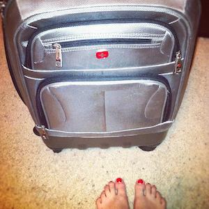 чемодан, с которым можно путешествовать при бюджетном отдыхе
