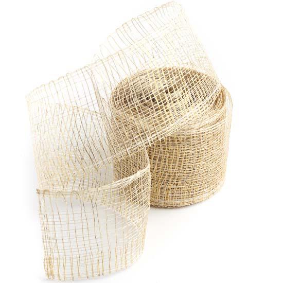 сльская декоративная лента: под грубоватый домотканый материал крупной клеткой и похожих немного на марлю, сочетающих в себе сельский шарм, элегантную простоту и эстетичную нейтральность