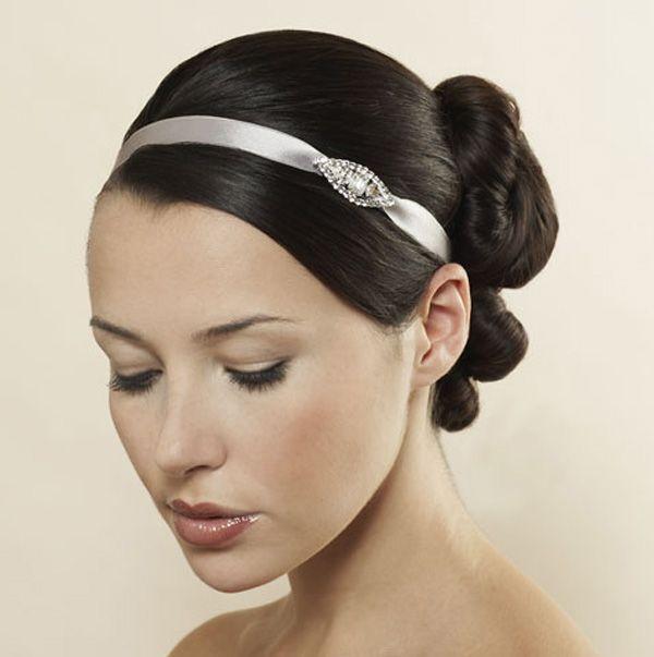 брошь на повзке - элегантные повязки на волосы своми руками