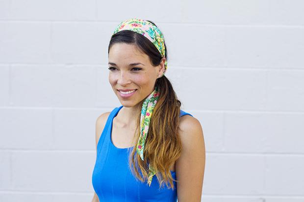 Как модно закрепить волосы: 6 повязок на голову своими руками. Часть 2.