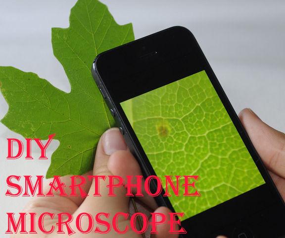 Как сделать микроскоп из камеры смартфона и как получать потрясающие макроснимки
