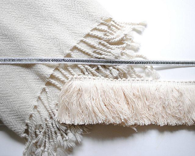 Исходные материалы для марокканского свадебного одеяла