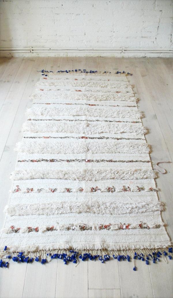 Варианты дизайна марокканского свадебного одеяла/покрывала/пледа - половик по мотиву