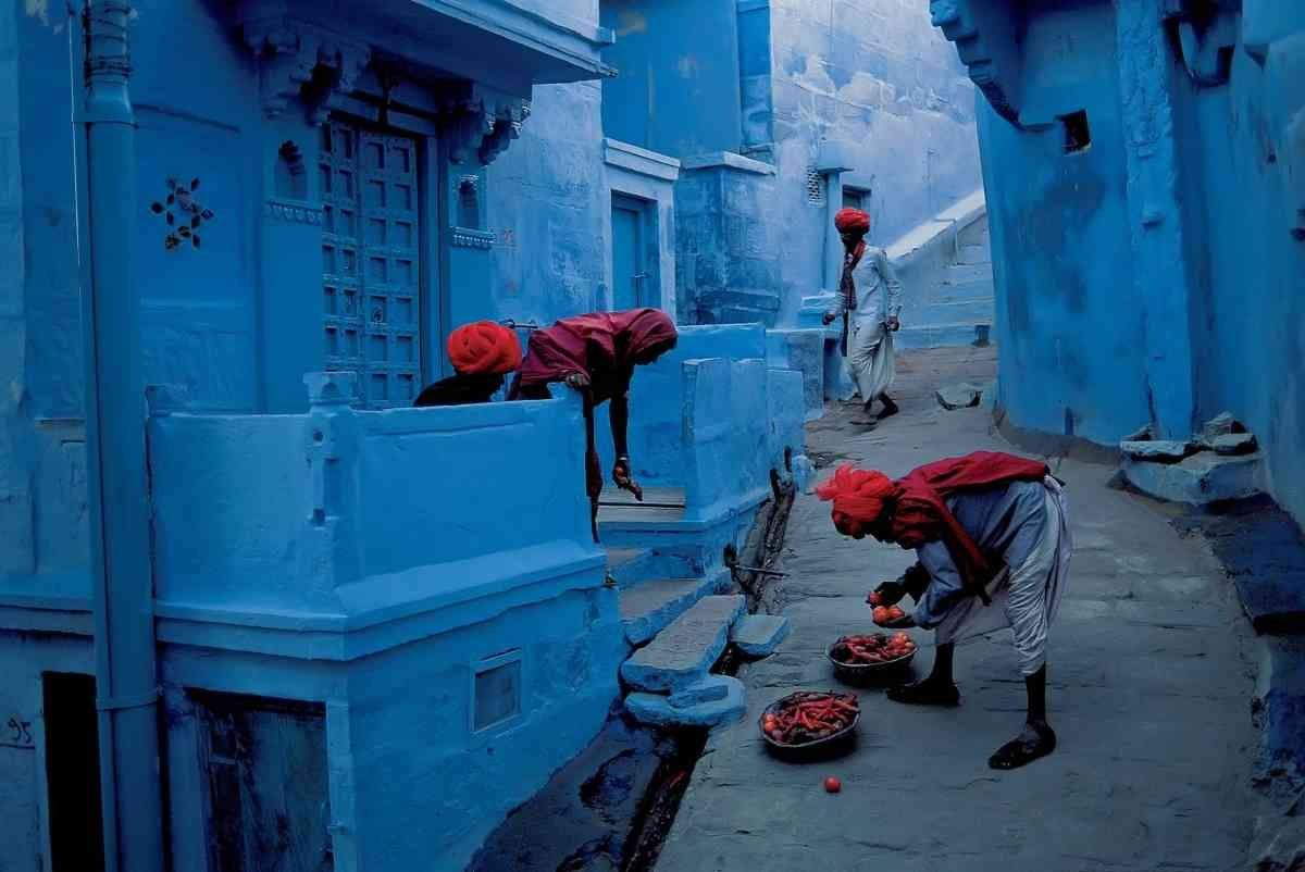 голубой город Джодхпур вид