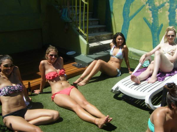 лучшие хостелы для вечеринок в мире на 2014: Milhouse Hostel, Буэнос-Айрес, Аргентина, есть бассейн