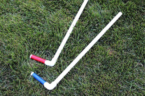 клюшки для мини-гольфа своими руками