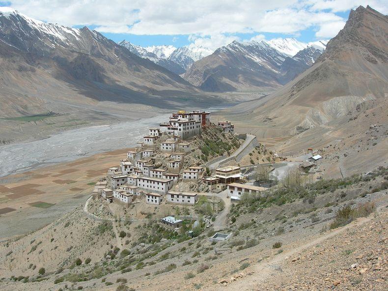 монастырь Ки (Ки Гомпа) в Тибете