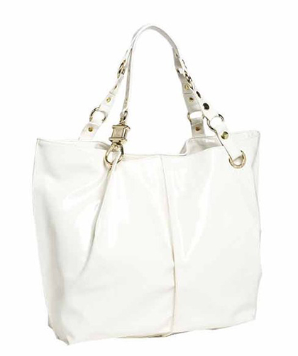 "Steve Madden ""Cotton Candy"" Patent Tote"