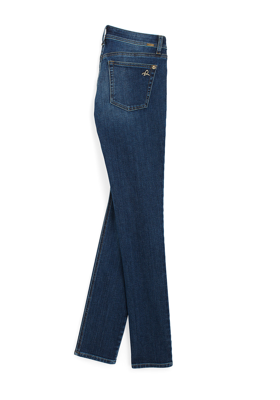 Florence Jeans –  более высокая талия скрывает не столь натренированный живот