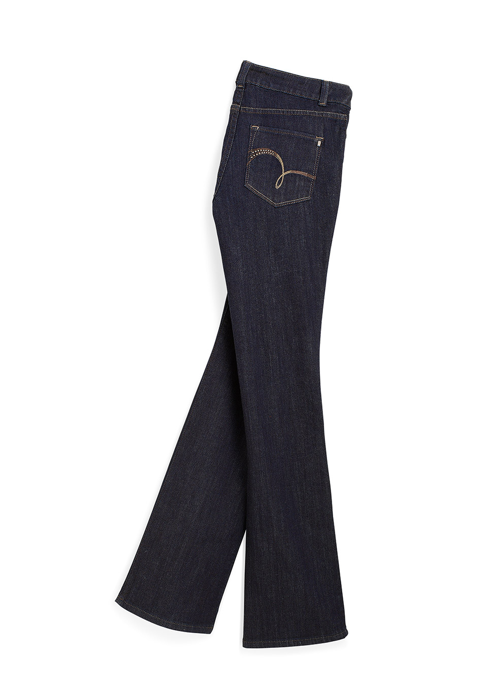 Modern Series Curvy Fit Trouser Jean – цельнокроенные попа и бедра, запоминающая форму ткань