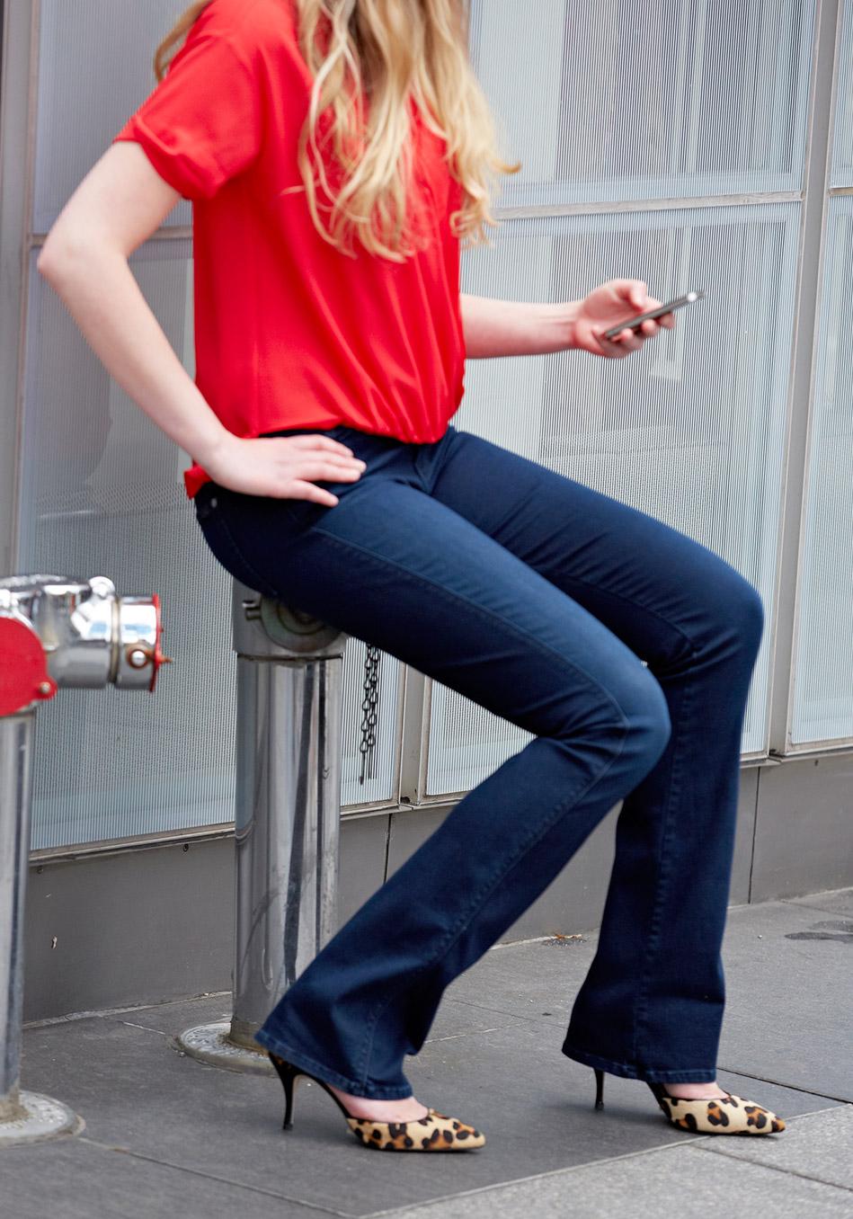 правильная обувь под джинсы