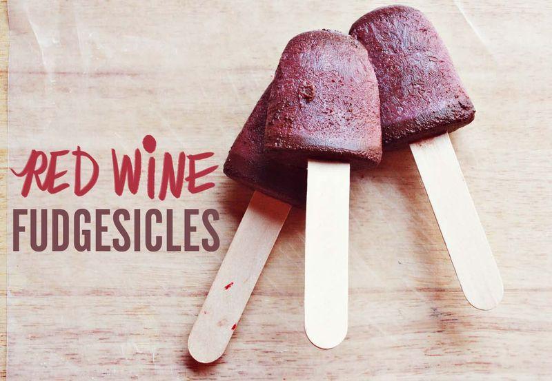 Сделайте из вина пьяные попсиклы (замороженный десерт)