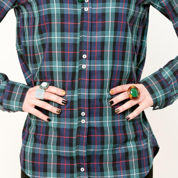 модный тренд 2014: крупные выделяющиеся оригинальные кольца