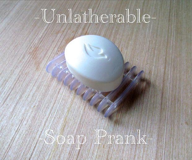 Как провернуть очень простую, но эффектную шутку с немылящимся мылом