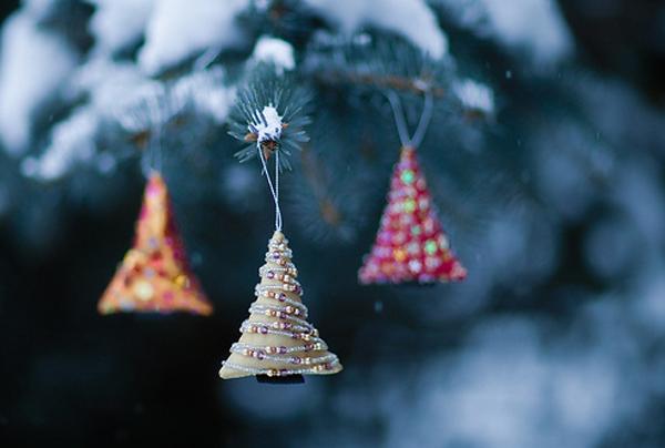 Как роскошно украсить елку в стиле а-ля натюрель: елочные игрушки своими руками