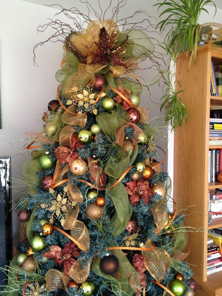 Любопытное направление в экостиле – «фруктовая елка» или «урожай: сеять и жать», тоже с отсылкой к старинным традициям