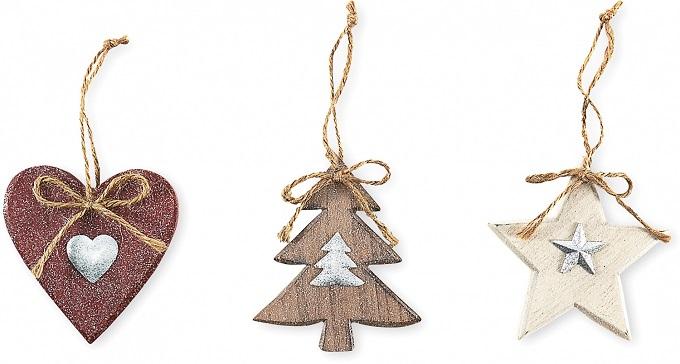 Как роскошно украсить елку в стиле а-ля натюрель (экостиль): коммерческие игрушки от марки Tchibo