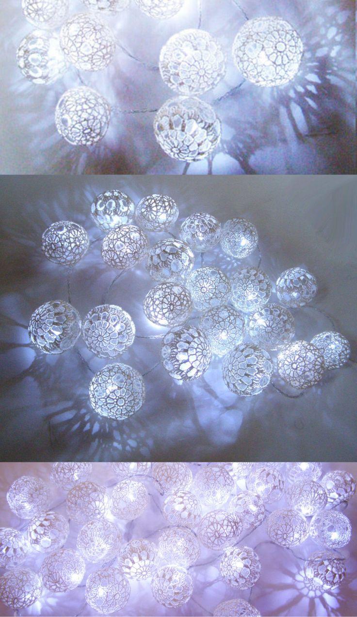 Как роскошно украсить елку в стиле а-ля натюрель: елочные игрушки своими руками - из кружевных салфеток