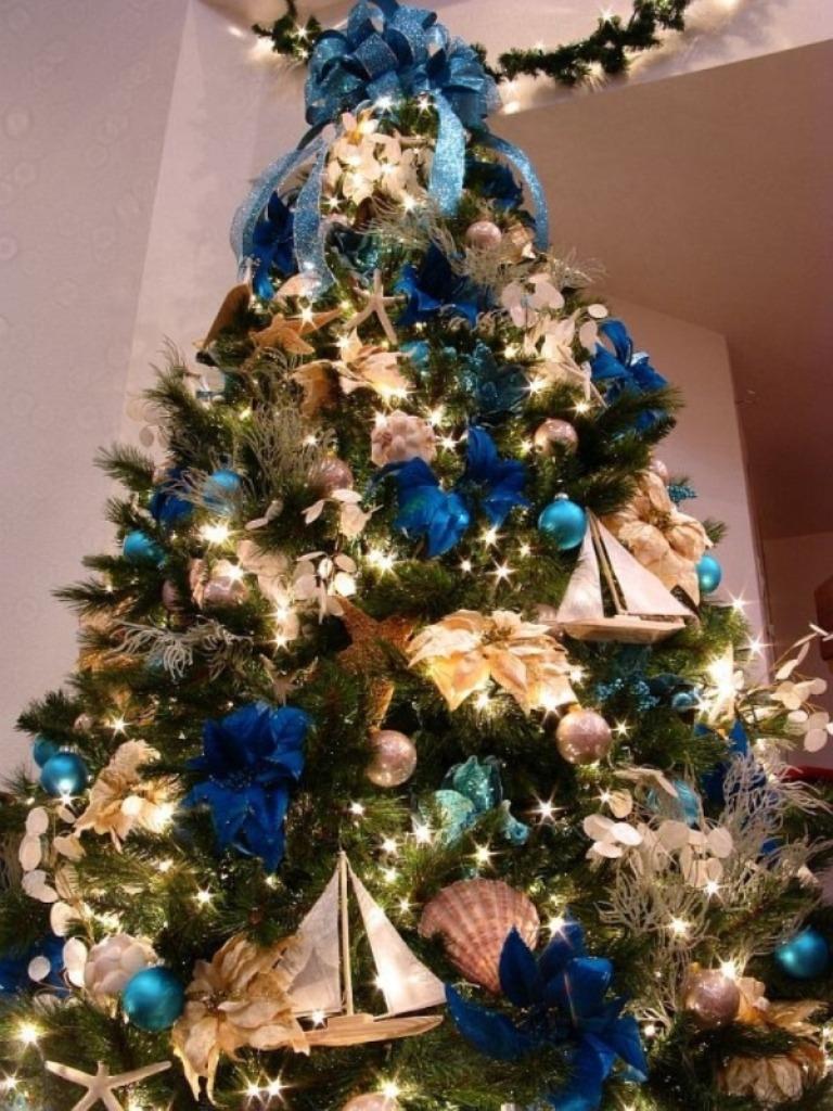 Как роскошно украсить елку в стиле а-ля натюрель (экостиль): ключевые моменты