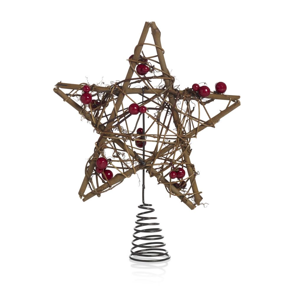 Скручивание и плетение елочных игрушек из веток различного происхождения и с последующим украшением бусинами, блестками и прочим