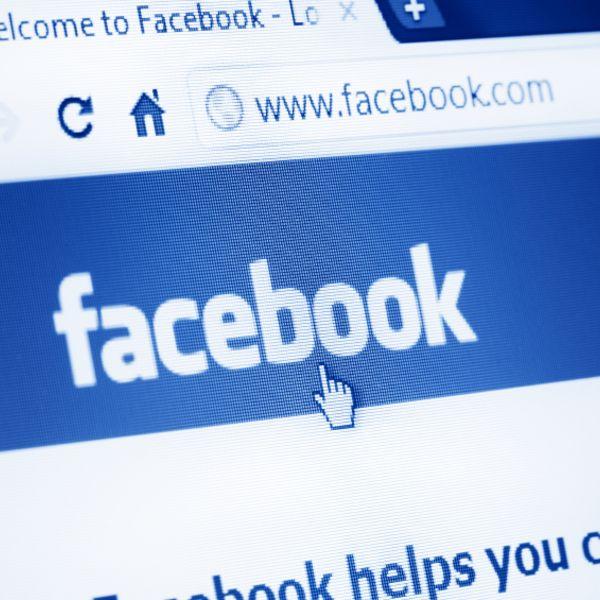 Фейсбук скрин FaceBook