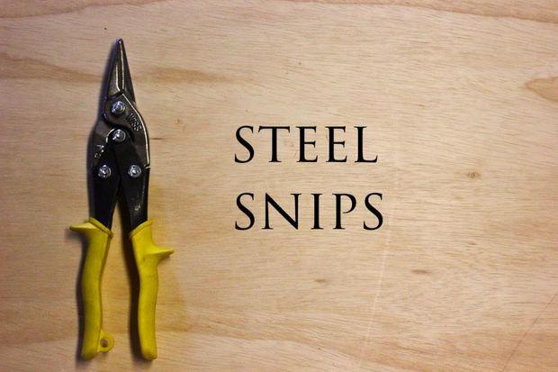 Стальные ножницы для резки металла
