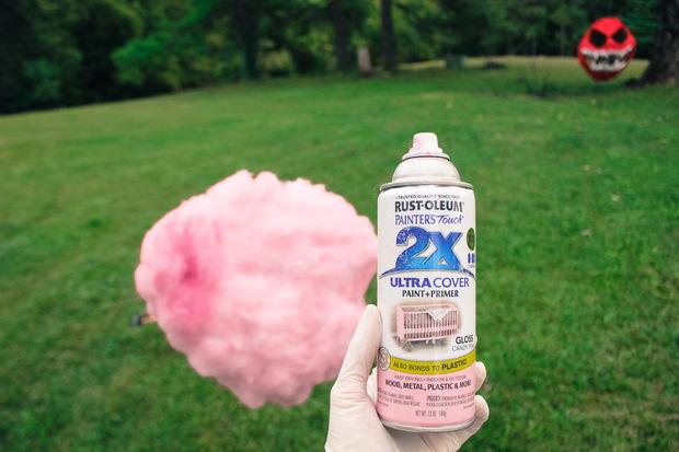 Краска-спрей - в оригинале Spray Paint Rustoleum 2X