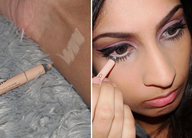 Чтобы выделить глаза на лице по возможному максимуму (или скрыть, насколько вы устали – синяки, «запавшая» кожа нижних век), используйте белую или светлую подводку для глаз