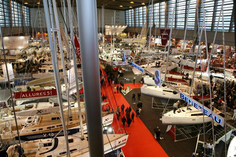 Как попасть на выставку яхт в Париже в 2012 году?
