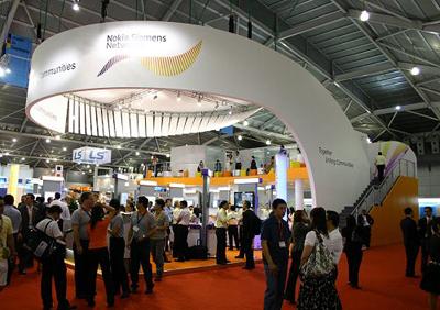 Nokia Siemens Networks на выставке