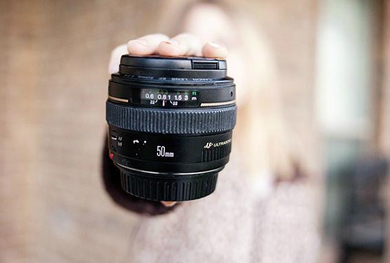 объектив 50 мм 1,8