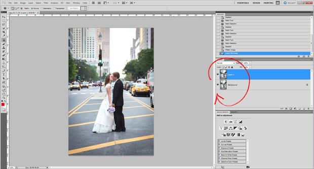 Photoshop: создаем второй слой изображения