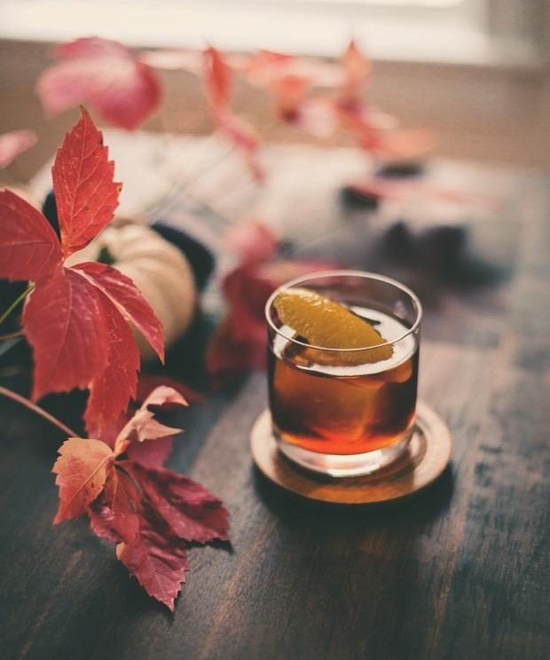 осенний коктейль с ржаным виски «Зарок»