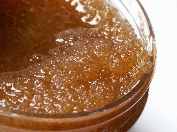 Скраб для тела из оливкового масла и сахара