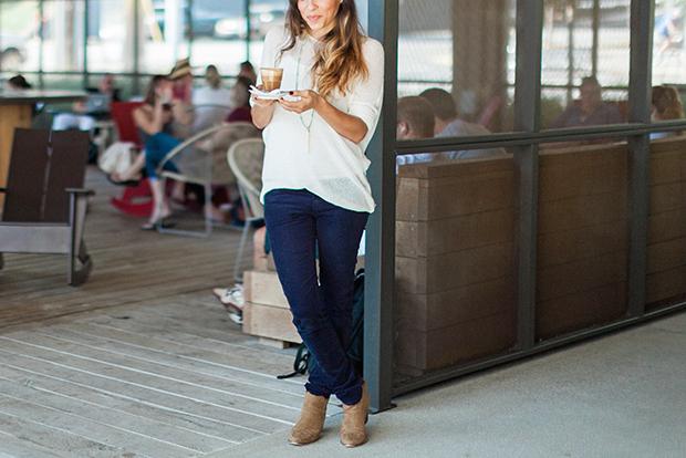мода осень 2014: обувь до лодыжек и длинные узкие джинсы