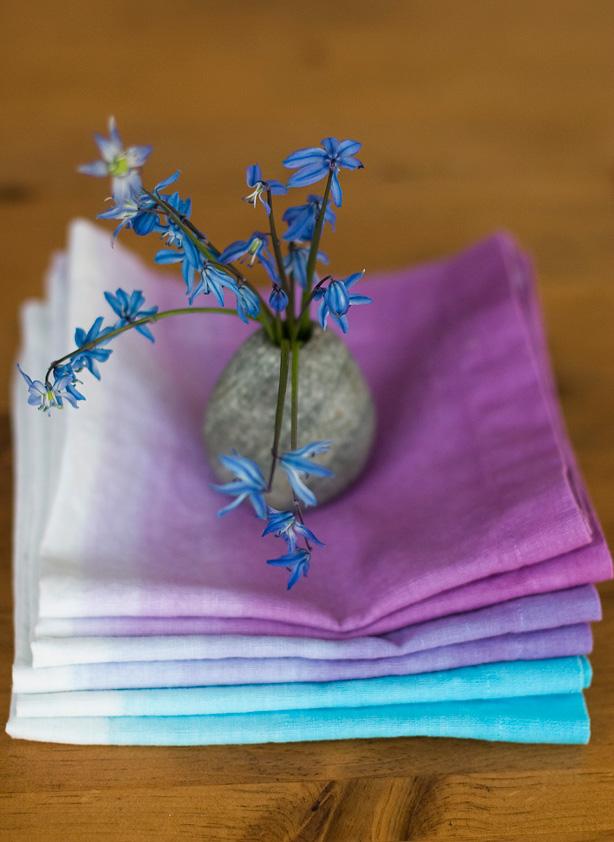 полотенца омбре (градиент)