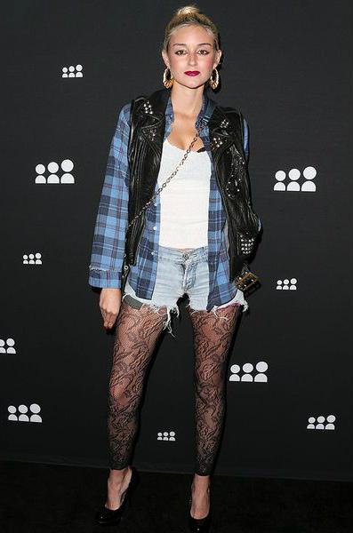 возвращение девяностых гранж тренд мода осени 2013 Кэролин Д'Амор (Caroline D'Amore)