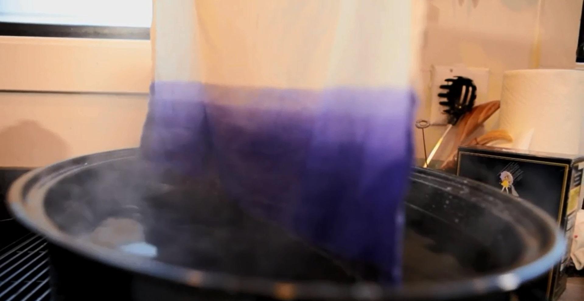 создаем градиент на ткани