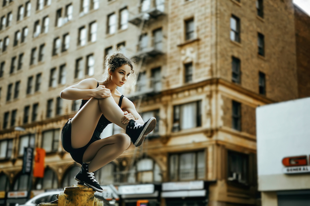 Ольга демонстрирует, что такое баланс. «Фокусировка и вера в себя – важная составляющая успеха».