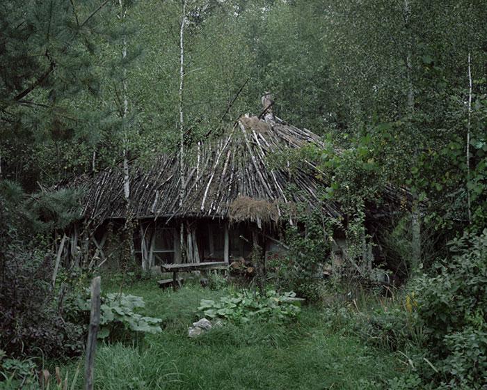 фотограф Данила Ткаченко: дом отшельника, сруб