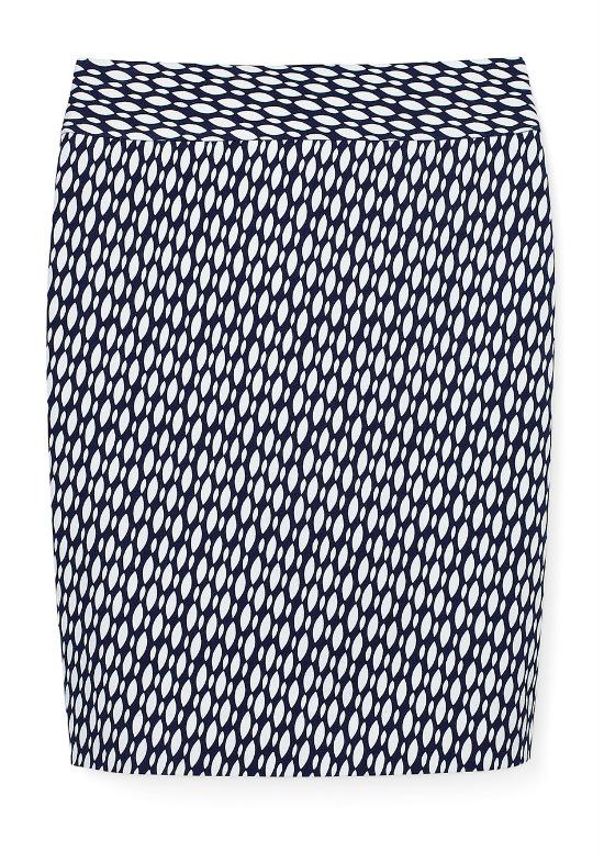 юбка из коллекции от Банана Репаблик (Banana Republic) из эластичных тканей - для стройной фигуры