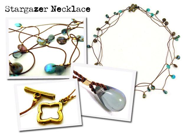 Как сделать ожерелье «Звездная фантазия» своими руками