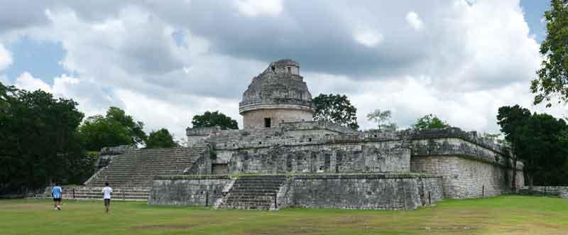 Чичен-Ица в Мексике Обсерватория